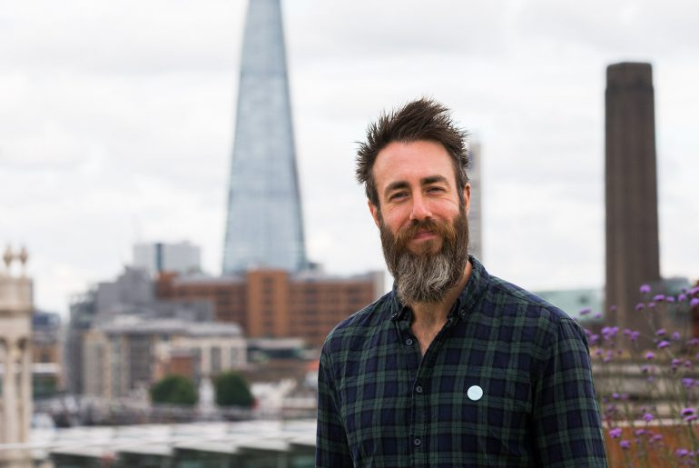 Matt Hayler. Ambient Literature event, London. 30 June 2016.